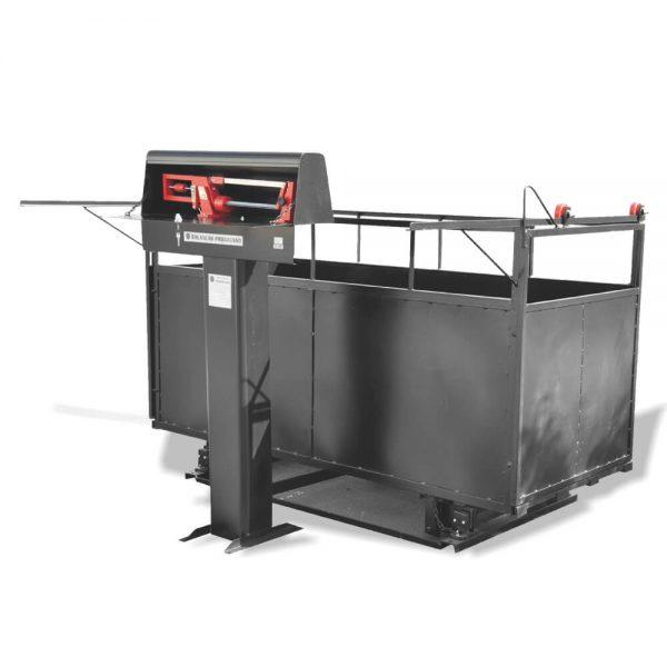Balança para Suínos / Ovinos - Gradil Metálico 500 kg