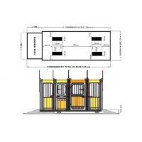 Base Gradil para Balança Eletrônica - Imagem